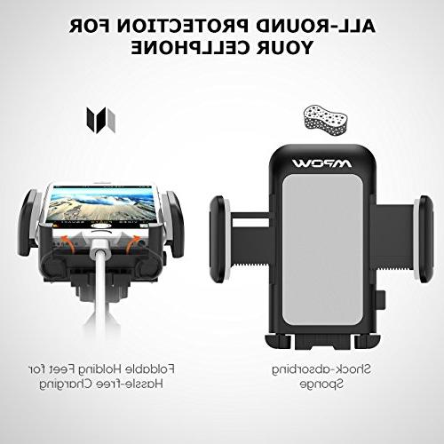 for Windshield Arm Car with One and Holder Compatible MAX/XS/XR/X/8/7/7P/6s,Galaxy S5/S6/S7/S8,Google,LG,Huawei