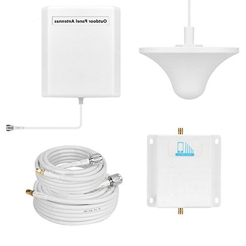 Cell Booster Verizon 4G LTE Booster High Gain Band13 700MHz Home Mobile Phone Signal Repeater Kit