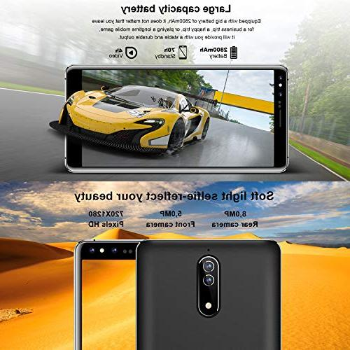 mobile Sim Unlocked + 16 GB|5.0 8.0 GSM Like Tmobile,
