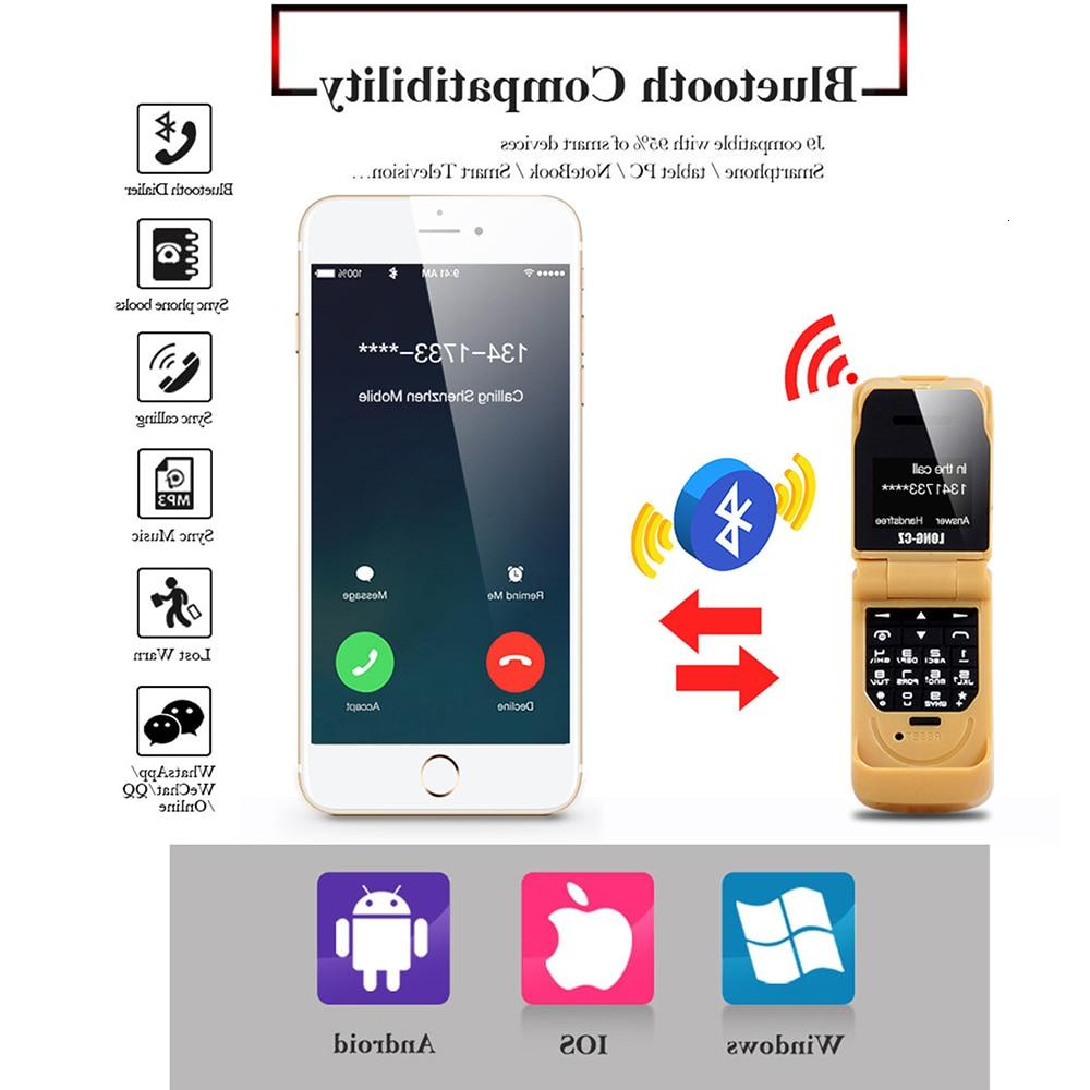 clamshell small mobile push-button gsm Voice Single cellphone