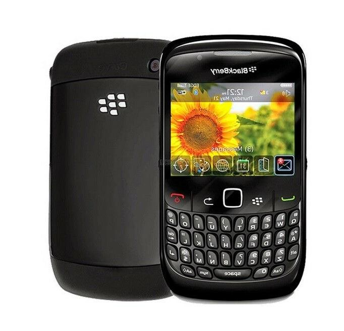 BlackBerry Curve 8520 - Black GSM  Smartphone Cell Phone AT&
