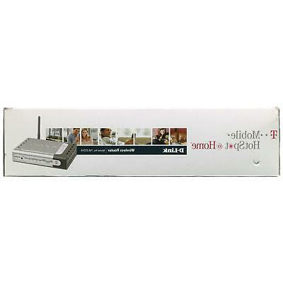 D-Link 54Mbps LAN 4-Port Router T-Mobile Hotspot