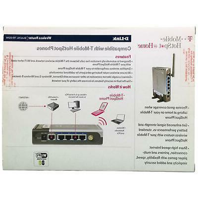 D-Link 54Mbps LAN T-Mobile Hotspot