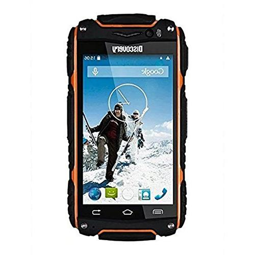 Hipipooo-Discovery V8 Shakeproof Rugged Android 4.4 3G Phone 4.0 inch Dual-Core,Dual SIM
