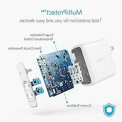 USB Wall Charger 2 Foldable Plug