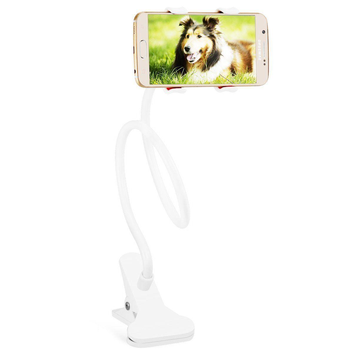 Flexible Cell Phone Bed Desktop Mount Stand