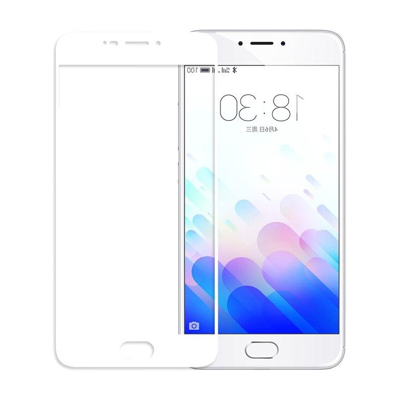 SIJIE Cover Tempered Glass for M3S 2017 New <font><b>mobile</b></font> Black
