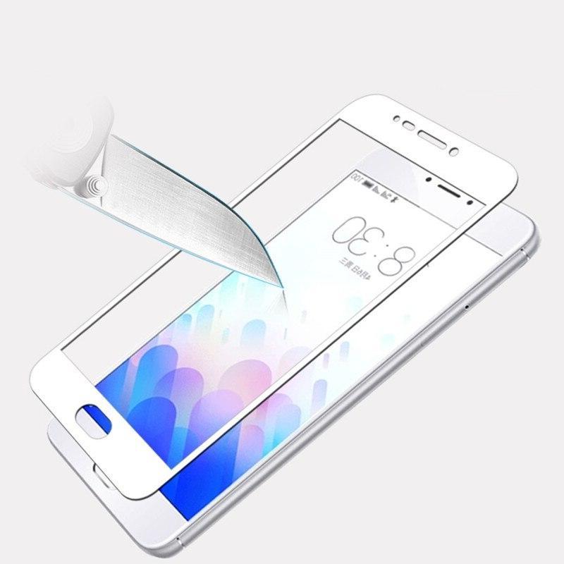 SIJIE Full Glass for <font><b>Meizu</b></font> M3S 2017 New high-quality <font><b>mobile</b></font> <font><b>phone</b></font> Black