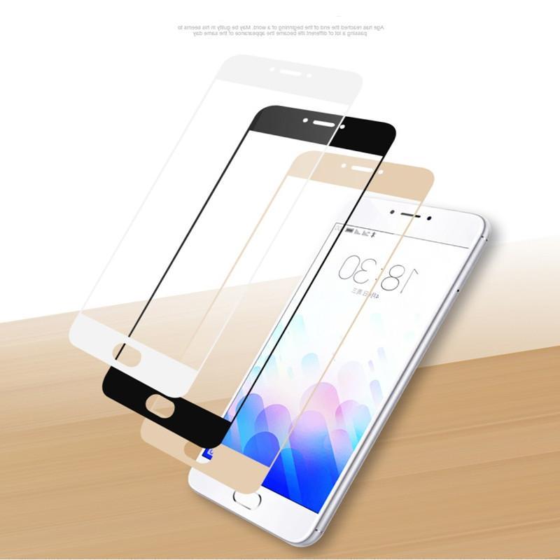 SIJIE Full Glass for <font><b>Meizu</b></font> 2017 New <font><b>mobile</b></font> Black