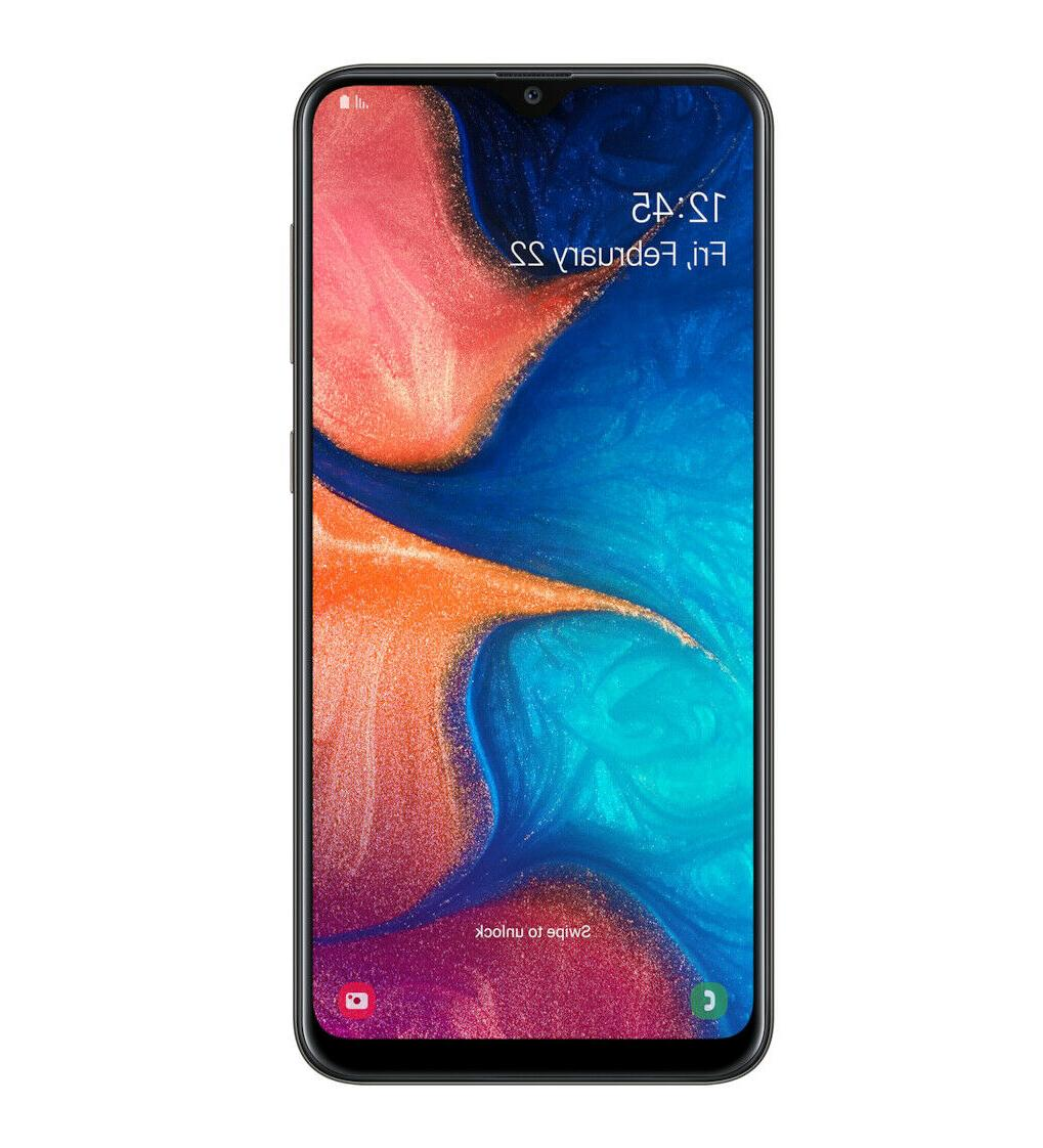 "Samsung Galaxy SM-A205G/DS Dual 6.4"" - Black"