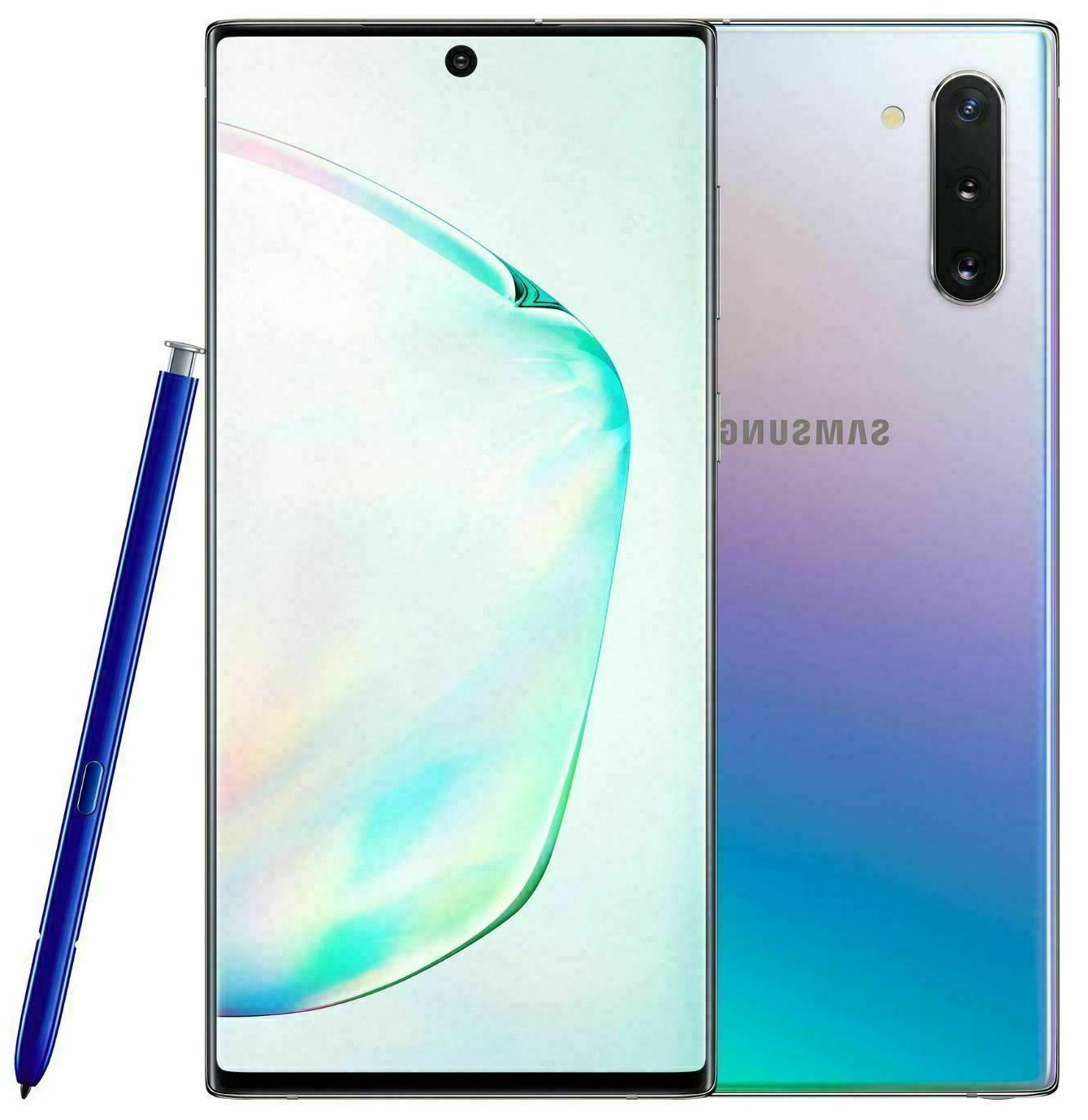NEW Samsung Galaxy NOTE 10+ Plus 256GB ⚫⚪🔵🟣