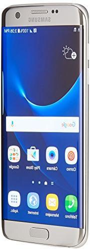 Samsung Galaxy S7 Edge SM-G935A 32GB Titanium Silver AT&T Un