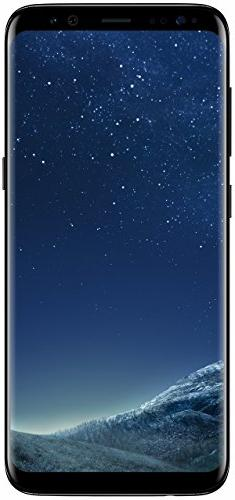"Samsung Galaxy S8, 5.8"" 64GB   - Midnight Black"