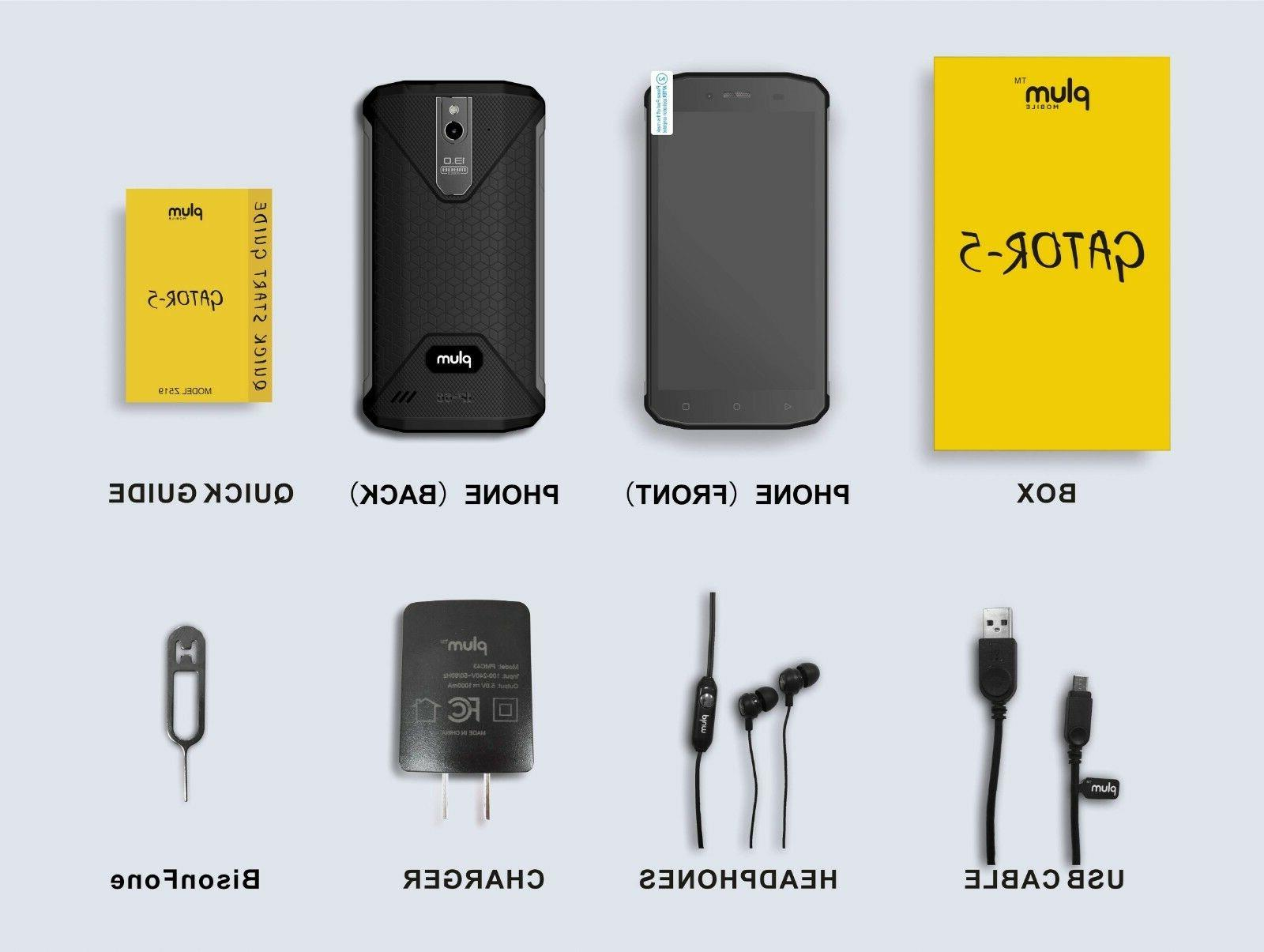 """Plum 5 Rugged GSM 5.2"""" Water Proof IP68"""