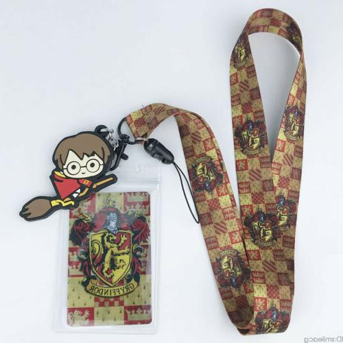 Harry Potter Cell Phone Rope Neck Charms KeyChain Gift N7