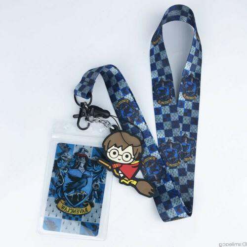 Harry Potter Cell Phone Rope Neck Strap Charms KeyChain Gift N7
