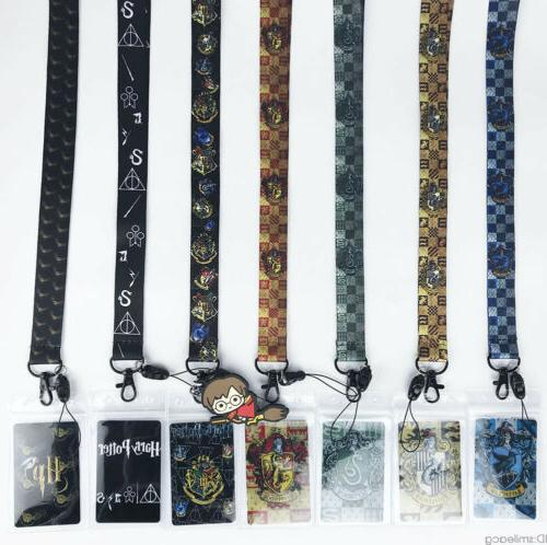 harry potter lanyard cell phone rope neck