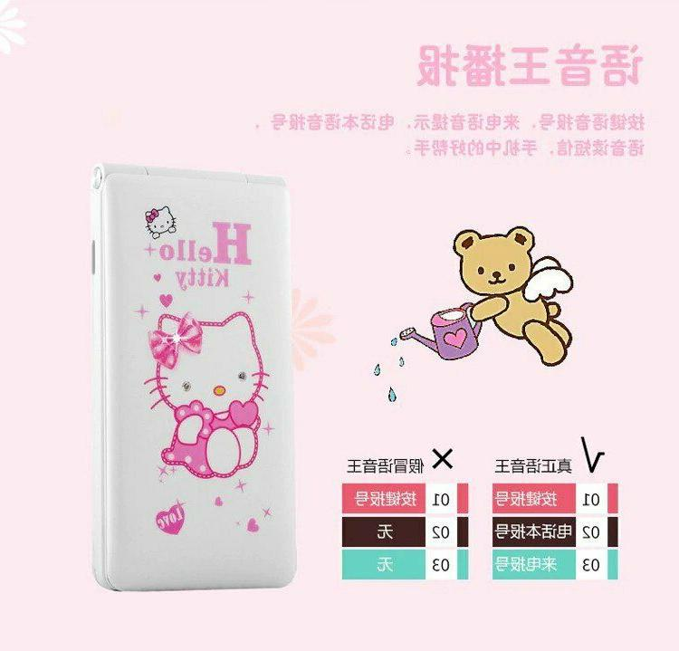 HELLO KITTY phone factory unlocked dual sim