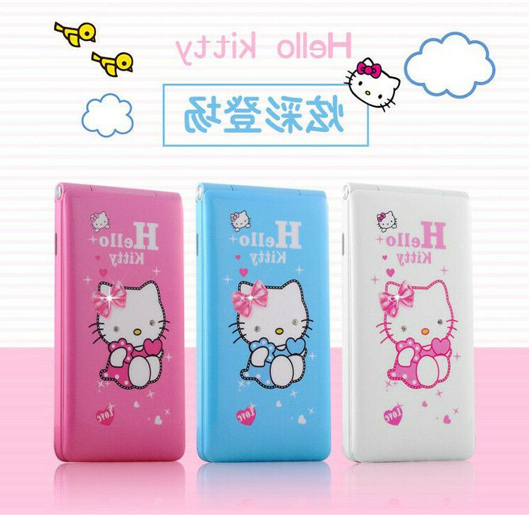 hello kitty girls flip phone factory unlocked