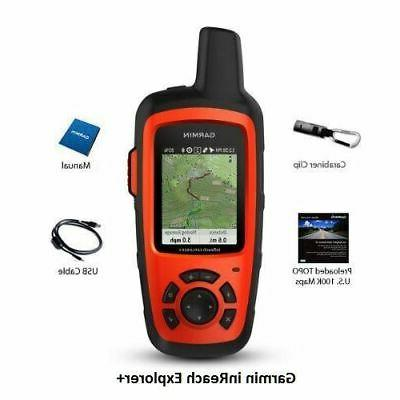 Garmin inReach Explorer+ Satellite Communicators with GPS -