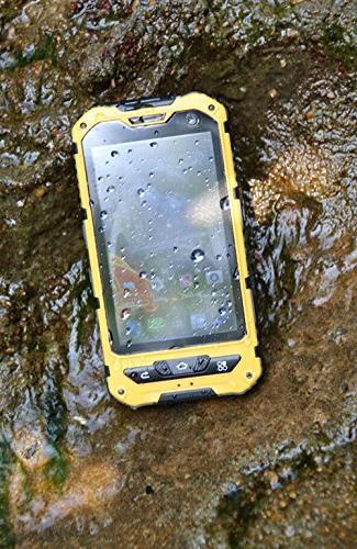 Waterproof Smartphone IP68 3G Cellphone Android 4.4.2 Mobile Phone 1.2GHz Dual Sim Dustproof Shockproof Screen GPS 5MP NFC