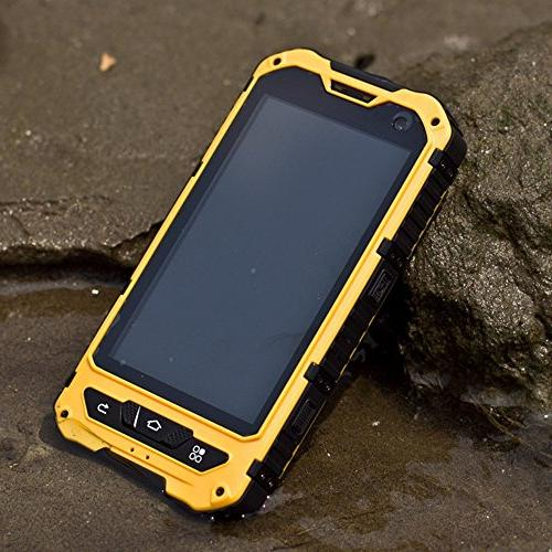 Waterproof IP68 Cellphone Android Phone 1.2GHz Quad Sim Capacitive Screen NFC