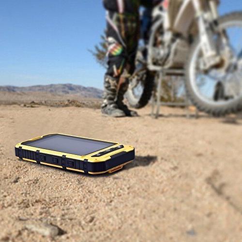 Waterproof Smartphone IP68 Android 4.4.2 Mobile Phone 1.2GHz Dual Sim Shockproof Screen GPS NFC