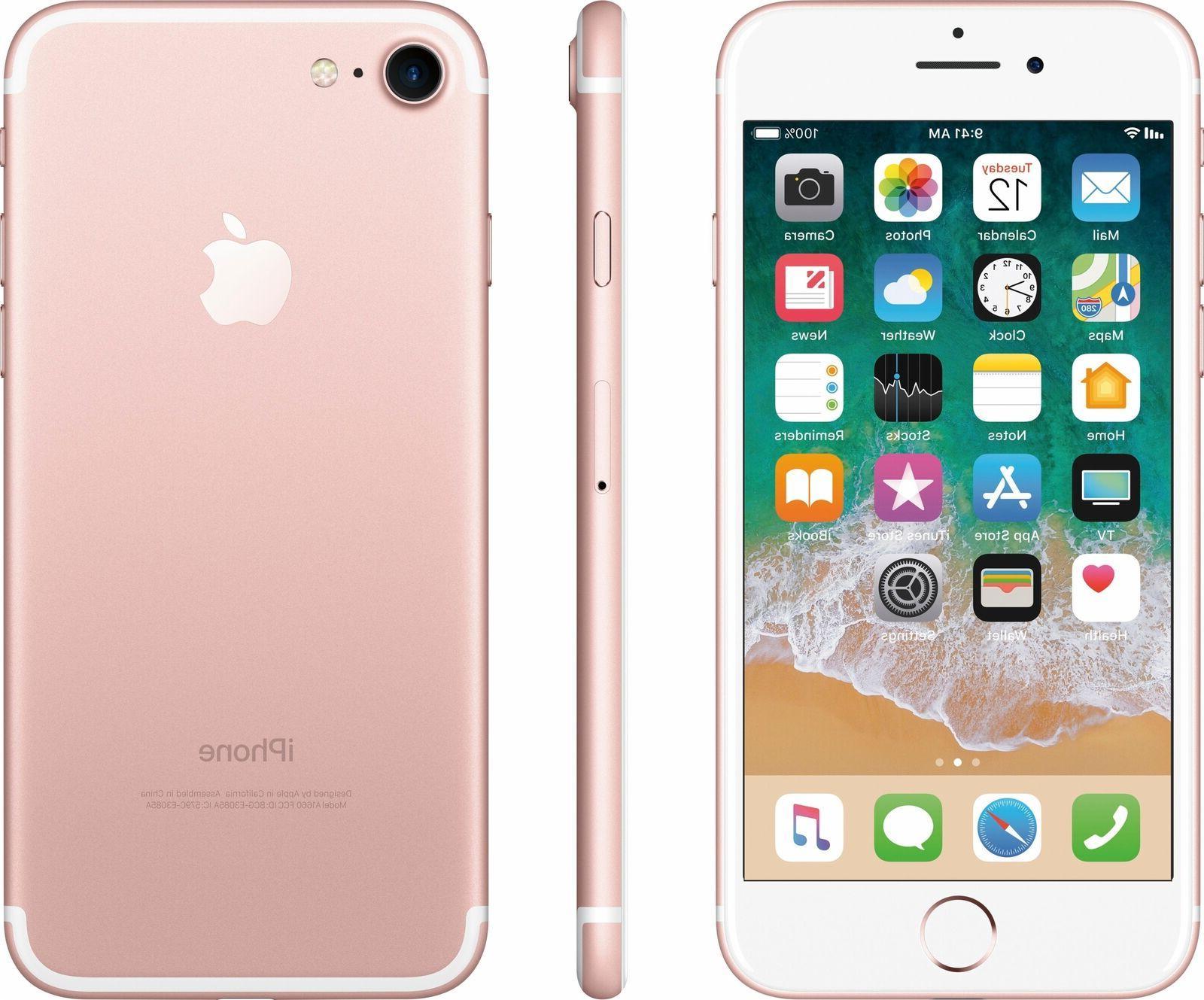 iphone 7 32gb rose gold factory unlocked