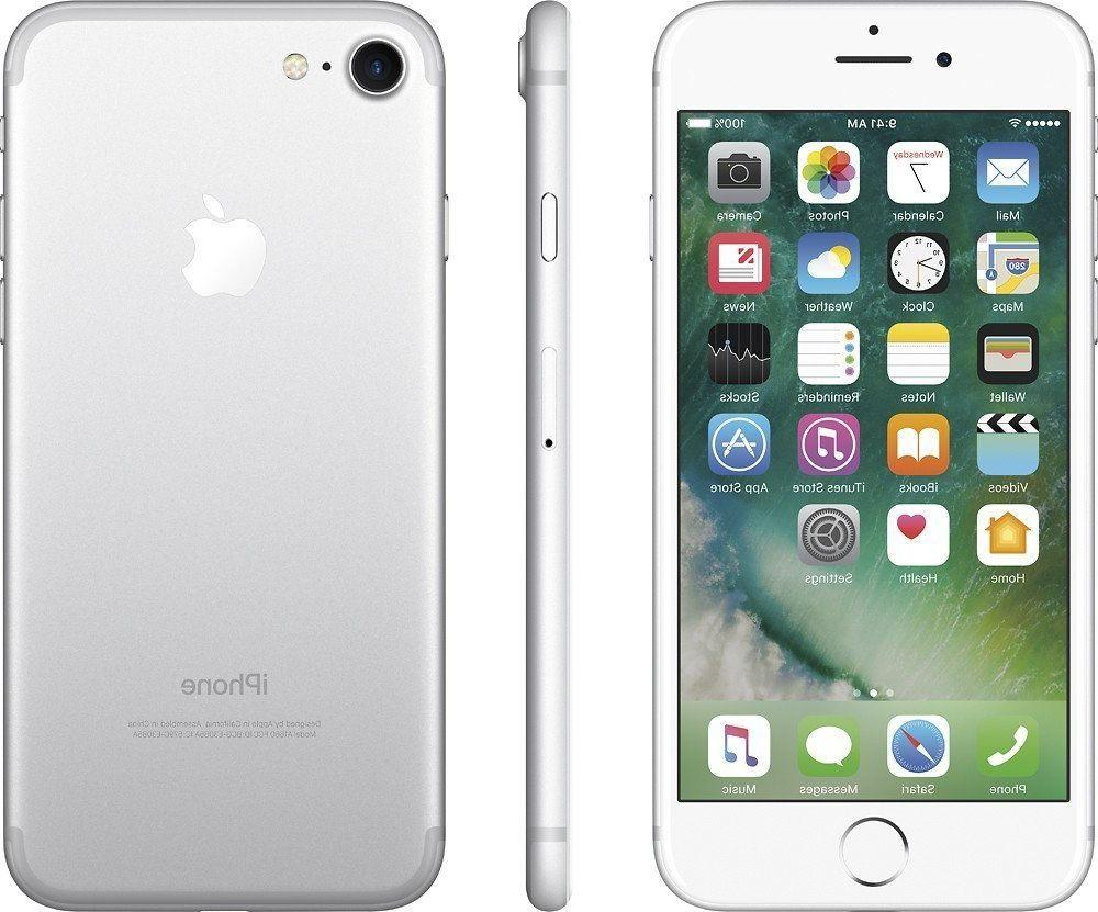 ***IPHONE 7 32GB SILVER FACTORY UNLOCKED! APPLE 32 GB GSM WH