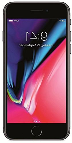 Apple iPhone 8, Fully Unlocked, 256GB - Space Gray