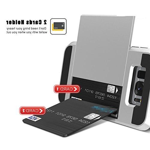vovmi Plus 5 Credit Card Back Galaxy S7 S6 Edge Red S6 Edge