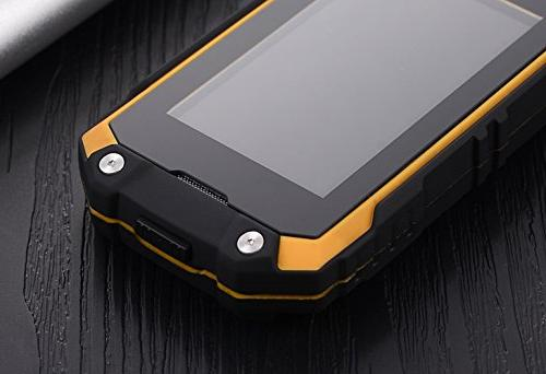 Hipipooo J5+ Shakeproof Mini Smartphone with 5.1 3G Unlocked MT6580M Quad-Core,Dual Slot
