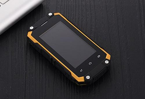 """Hipipooo Shakeproof Rest-Pocket 2.45"""" Smartphone with 3G MT6580M Quad-Core,Dual"""