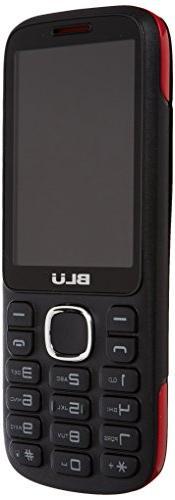 BLU Jenny TV 2.8 T276T Unlocked GSM Dual-SIM Cell Phone w/ 1