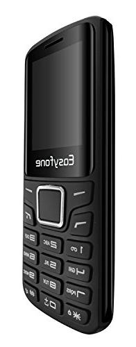 Easyfone Unlocked VGA-Camera Screen and High-intensity Glass, GSM Quad-Bands Worldwide Cell Phone Bluetooth and Slot