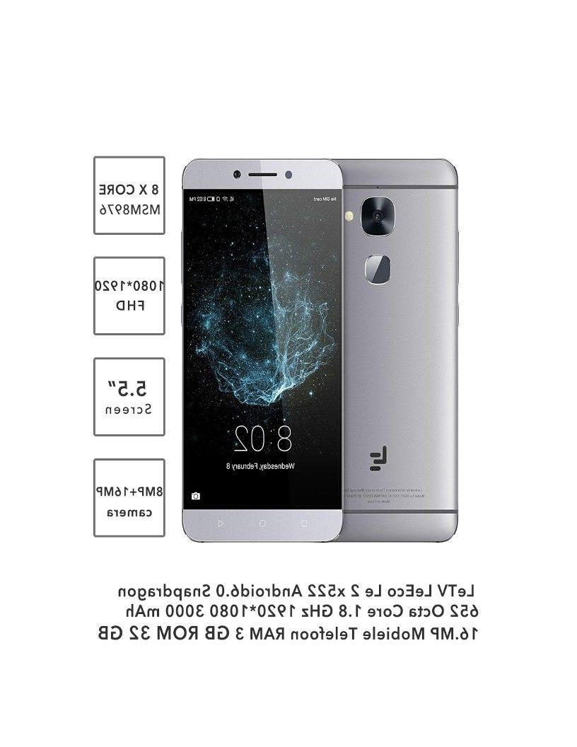 Le 2 X520 4G Cellphone 3GB 64GB 5.5 inch Camera: 8.0MP/16 MP