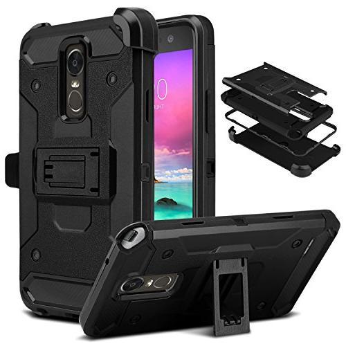 LG Stylo 3 Case, DONWELL 4 in 1