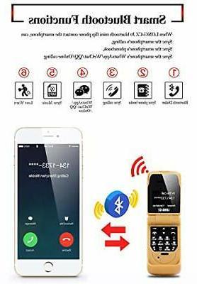 LONG-CZ J9 Flip Bluetooth Dialer Voice Mobile