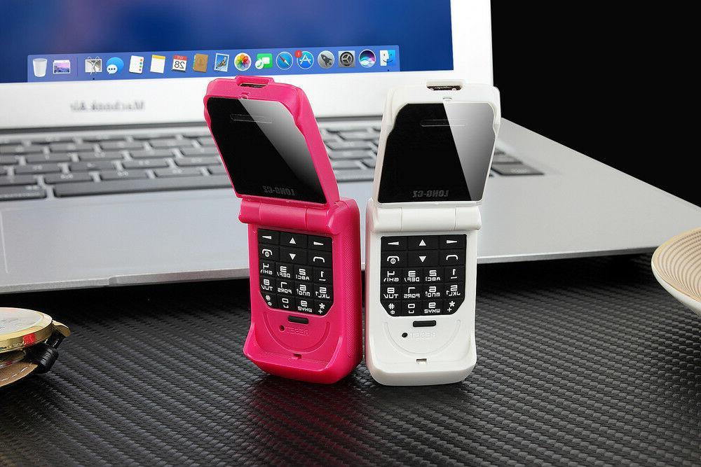 LONG-CZ Phone 0.66 Smallest Kids