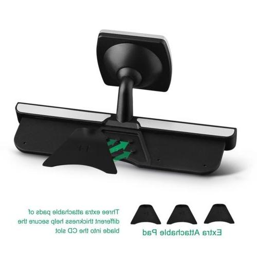 MPOW Magnetic Slot Mount Holder Universal For Cell Phone