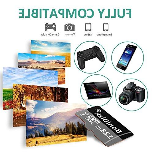 BoniDisk SD SDXC High Class 10 Memory Card with SD Adapter