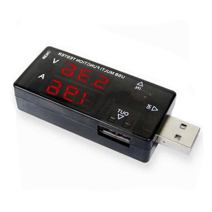 micro usb charger speed tester checker ma