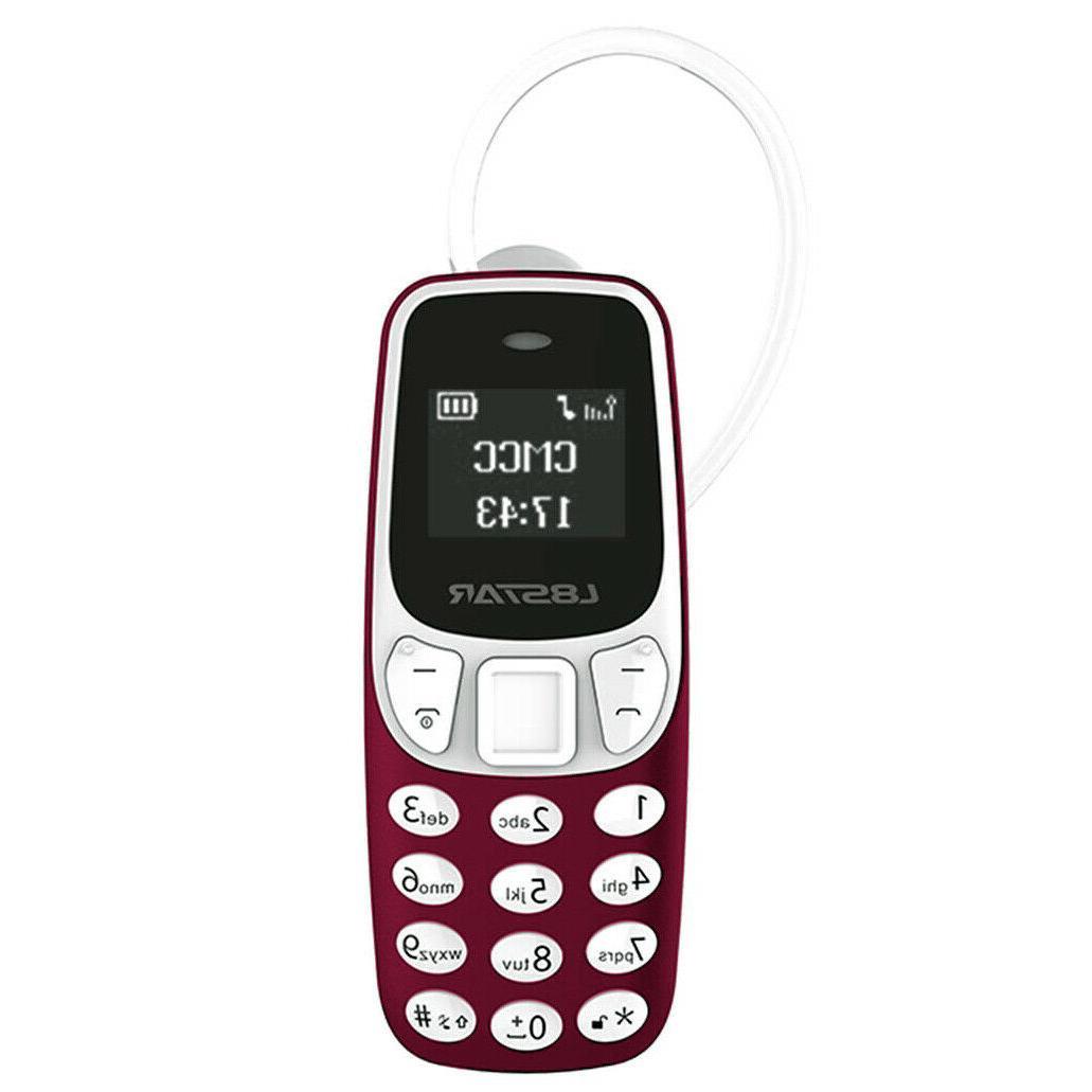 Mini Small GSM Mobile Phone Dialer BM90 CellPhone Earphone H