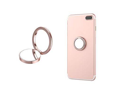mirror phone ring holder