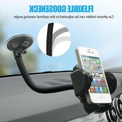 mobile cell phone holder car windshield dashboard