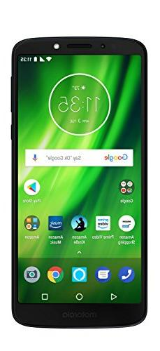 Moto G6 Play – 32 GB – Unlocked  – Deep Indigo – Pri