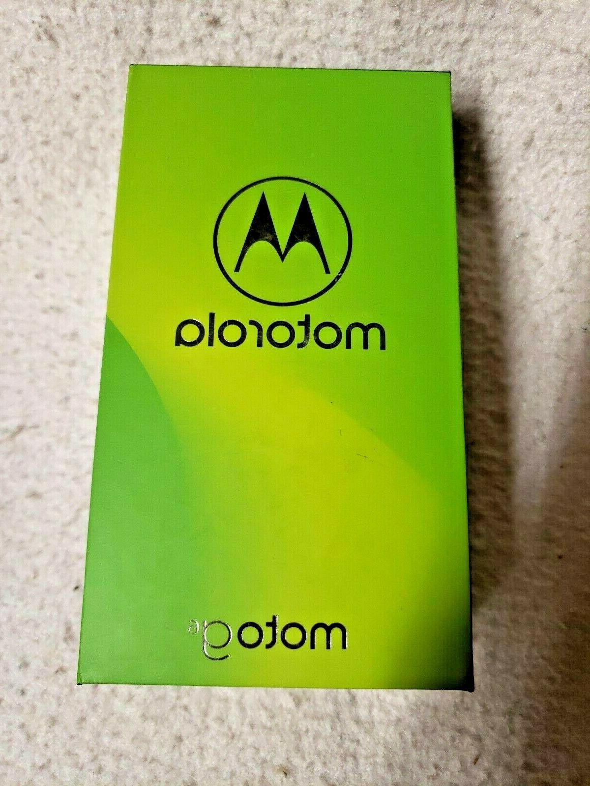 Moto G6 – 32 GB – Unlocked  – Oyster Blush - Prime Exc
