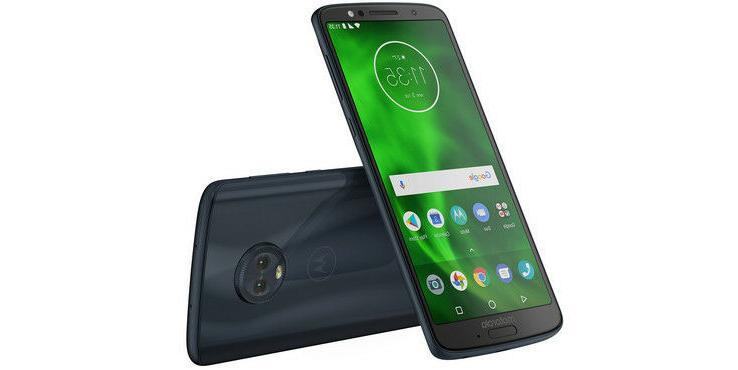 "Motorola Moto G6 Factory Unlocked Phone - 5.7"" Screen - 32GB"