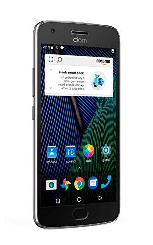 Moto G Plus Lunar 64 GB Unlocked Prime Exclusive Lockscreen