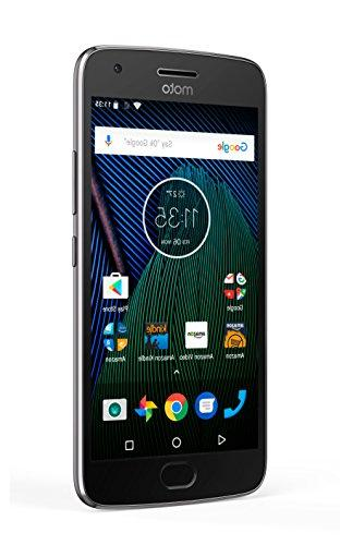 Moto G - Lunar Gray - 64 GB Unlocked Prime Exclusive - with Lockscreen Offers
